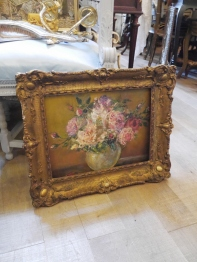 Antique Oil Painting (062-22)