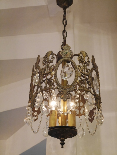 Crystal Chandelier (228-13)