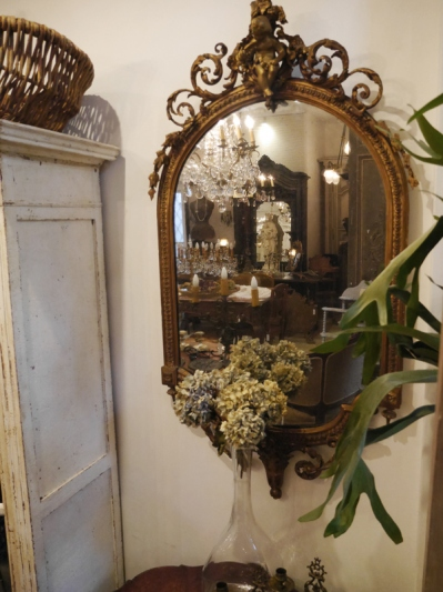 French Mirror (193-13)