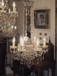 Crystal Chandelier (518-20)