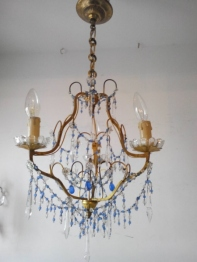 Crystal Chandelier <Blue> (C-3)