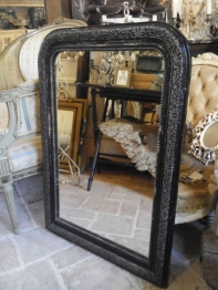 French Mirror <Black> (C-7)