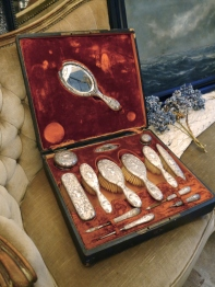 Brush & Mirror Set -for Wedding- (D46-19)