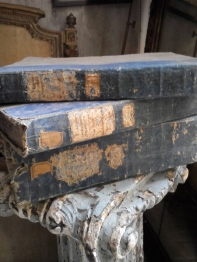 Three antique books (C-1)