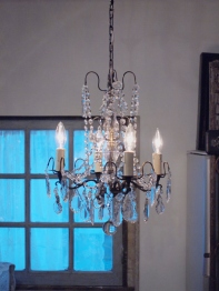Crystal Chandelier (220-13)