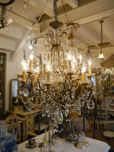 Crystal Chandelier (245-13)