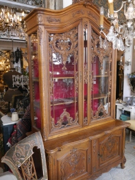 Armoire Glass Cabinet (707-20)