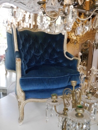 French Arm Chair (007-17)