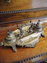 Antique Ink Tray (N58)