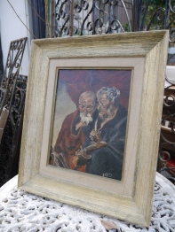 Antique Oil Painting (808-16)