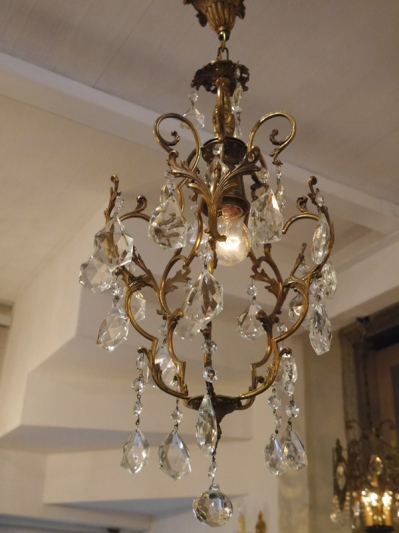 Crystal Chandelier (408-14)
