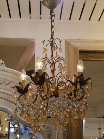 Crystal Chandelier (406-14)