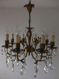 Crystal Chandelier (E)