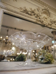 Glass Compote (TA148)