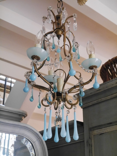 Crystal Chandelier (F128)