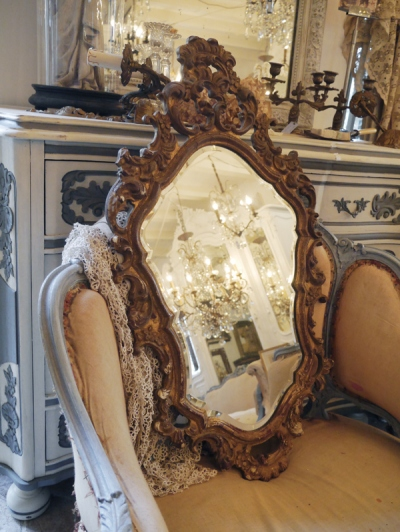 French Mirror (437-14)