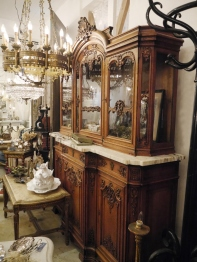 Armoire Glass Cabinet (346-19) <ご売約済み>