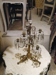 Crystal Candle Stand (128-17)