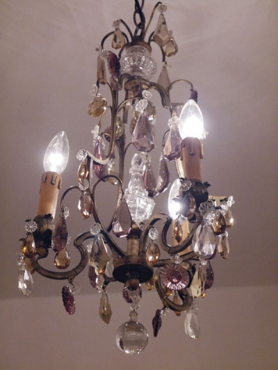 Crystal Chandelier (843-16)