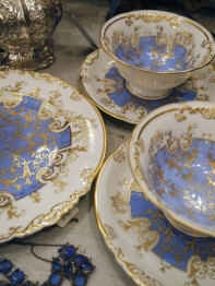 Pair of Cup Saucer & Plate Set (EU1426)